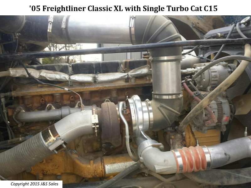 '05 Freightliner Classic XL with Single Turbo Cat C15