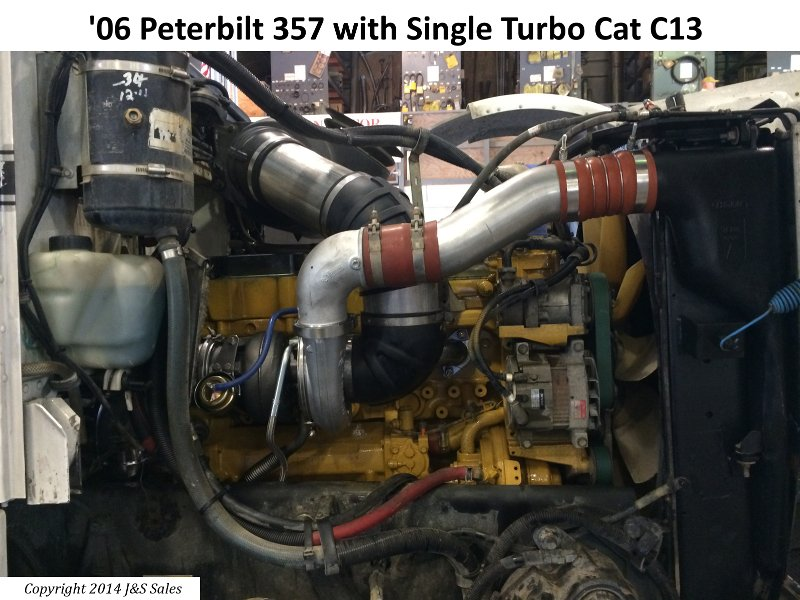 '06 357 Peterbilt Single Turbo Cat C13 web