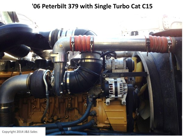 '06 379 Peterbilt Single Turbo Cat C15 web