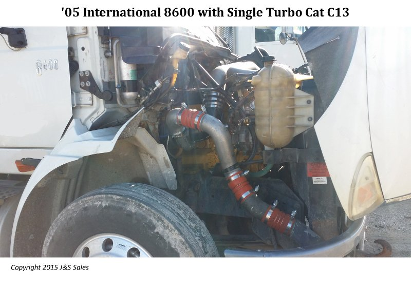 '06 8600 International Single Turbo Cat C13