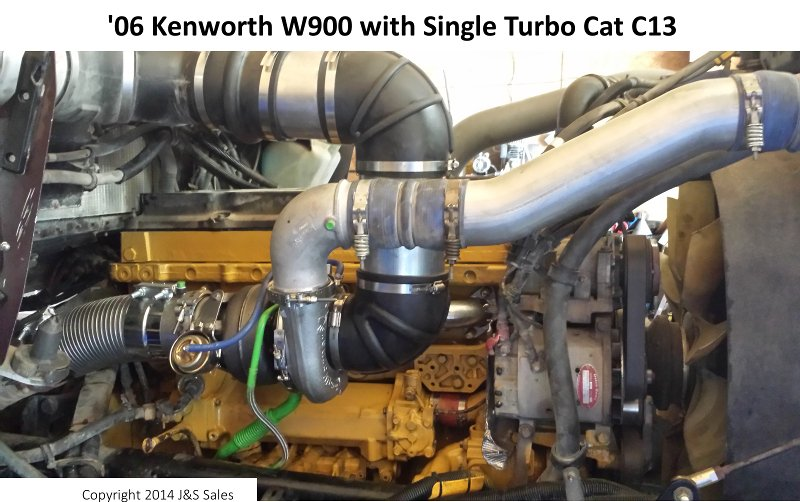 '06 W900 Kenworth Single Turbo Cat C13