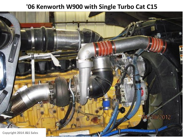 '06 W900 Kenworth Single Turbo Cat C15