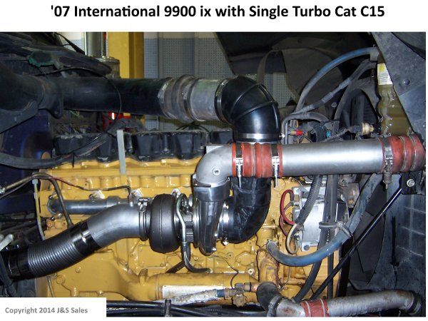 '07 9900ix International Single Turbo Cat C15