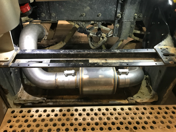 Custom Exhaust Straight Piped
